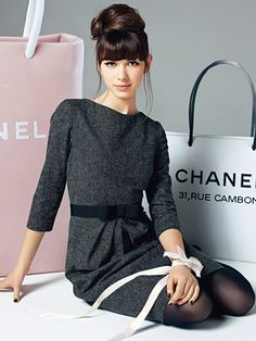 Kleid chanel style