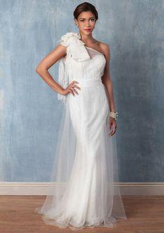 Angeline | Modern Vintage Bridal Dresses | by Ruche Best wedding dress for under $100