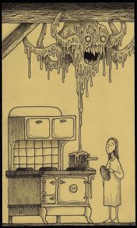John Kenn Mortensen's Post-It Monstres