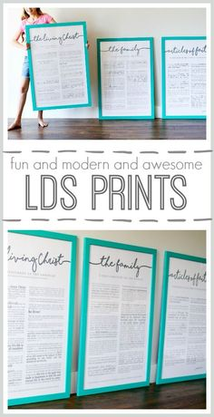 lds prints living christ family proclamation articles of faith