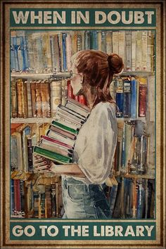 I Love Books, Books To Read, My Books, Library Posters, Library Art, Book Aesthetic, Book Nooks, Book Quotes, Book Lovers