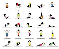 Exercises when you have a pain - practicing yoga