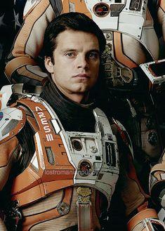 Sebastian Stan as Dr. Chris Beck in The Martian(October 2)