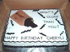 Older Than Dirt Cake on Cake Central