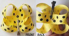 How to Make Bows: Twisted Boutique Bow {The Ribbon Retreat Blog} Ribbon Hair Bows, Diy Hair Bows, Diy Ribbon, Boutique Bow Tutorial, Hair Bow Tutorial, Flower Tutorial, Ribbon Retreat, Pinwheel Bow, Diy Headband