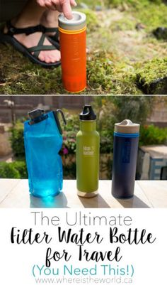 The Best Travel Water Bottle with a Filter | http://www.whereistheworld.ca/the-best-travel-water-bottle-with-a-filter/