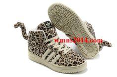 various colors 0158b bf219 Adidas JS Leopard ObyO x Jeremy Scott V24536