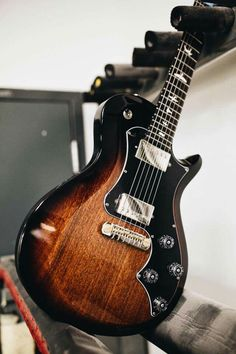 This one has some punch. The S2 Singlecut Standard in McCarty Tobacco Sunburst. PRS Guitars