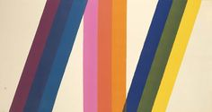 thediscography:  plphny:  mathunderwood: /// i12bent:  Paul Reed (b. Mar. 28, 1919): Interchange no. 2, 1966 - synthetic polymer: acrylic on fabric: canvas (Smithsonian)