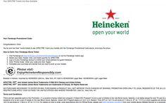 Heineken James Bond Spectre Instant Win Game Win #freestuff #freebies #samples #free