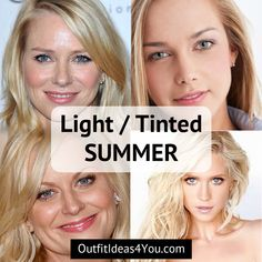 Tinted Summer (Light Summer) - Seasonal Color Analysis