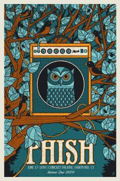 PHISH -HARTFORD OWL ORANGE