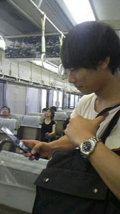 [Champagne]川上洋平2010/7/5 総長から大阪着きました!とメール おろち
