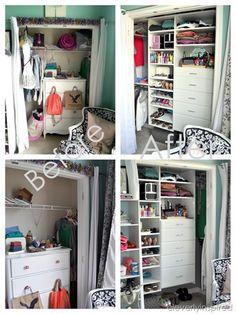 Cute closet makeover