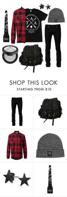 """""""just hold me in your heart..."""" by phieo-thundersnow ❤ liked on Polyvore featuring Tiger of Sweden, AllSaints, Sacai, Bling Jewelry and Kat Von D"""