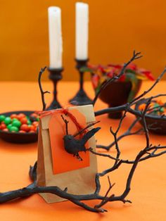 Halloween Candy Bag Crafts - Make Halloween Candy Bags - Woman's Day