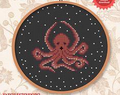 Octopus hug - PDF cross stitch pattern