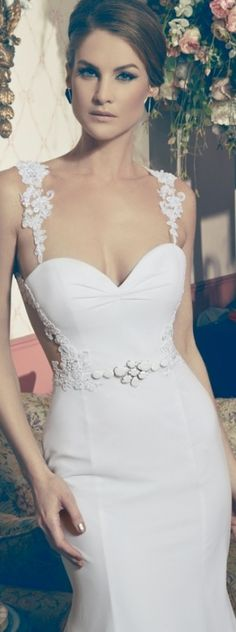 Shimon Dahan  Yona Ben Shushan's bridal collection 2013 ♥✤