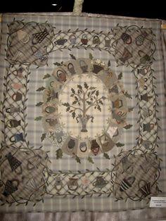 Basket quilt by Yoko Saito