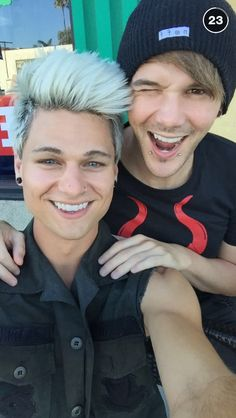 Bradlee Wannemacher and Matthwe Lush