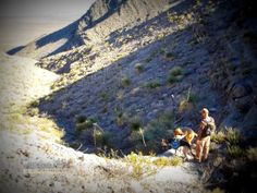 Dogs rock climbing?  Cactuswhacking and Doggy Rock Climbing | 1,000 MILES on my own two feet