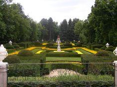 Vistas de los jardines de la Granja de San Ildefonso