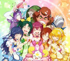 DokiDoki! Precure Brasil~: Glitter Force: anime ganha data de ...