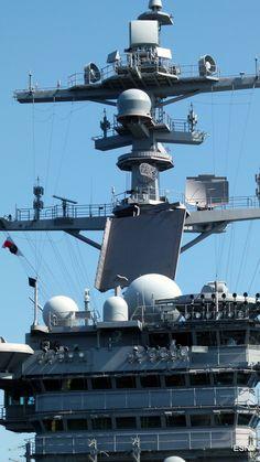 The Tower on the USS Carl Vinson CVN-70