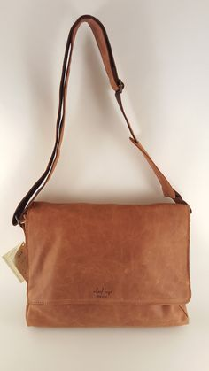The natural beauty of the hide is evident in this mid-sized messenger bag from Leaf Bags. Hand made from soft, yet durable Italian Leather. This is a perfect bag for personal items, work, or even a sm