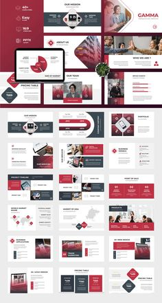 Gamma - Business Keynote Presentation by TMint on Envato Elements Best Presentation Templates, Presentation Board Design, Business Powerpoint Presentation, Power Point Presentation, Presentation Slides, Keynote, Template Power Point, What Is Fashion Designing, Powerpoint Design Templates