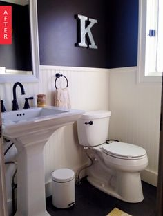 Before & After: '70s Bathroom Addition Finally Fits In