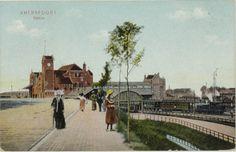 Amersfoort Station ansicht.