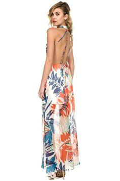 Better Than Most Tropical Maxi Dress – The Laguna Room
