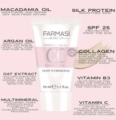 European Beauty Trends, and from Love Makeup, Gorgeous Makeup, Farmasi Cosmetics, Bombshell Beauty, Macadamia Oil, Beauty Consultant, Cc Cream, Acne Skin, Skin Products