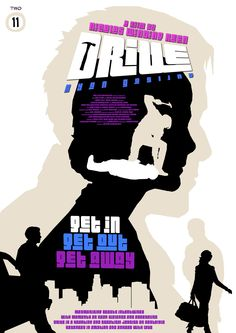 Drive (2011) - Minimalist Movie Poster by Russell Ford #Drive #2011 #2011movies #movieposters #minimalmovieposters #alternativemovieposters #RussellFord