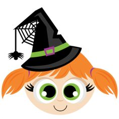 Miss Kate Cuttables Witch Head