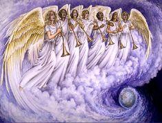 Então os sete anjos que tinham as sete trombetas, se prepararam para tocar Apocalipse 8_6 by estaescrito, via Flickr