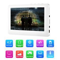 Cheap MP4 Player, Buy Directly from China Suppliers:Touch HD Screen MP4 Player 8GB Memory Speaker Player Support Video playback, E-book, FM,Games,MP5 Music Player