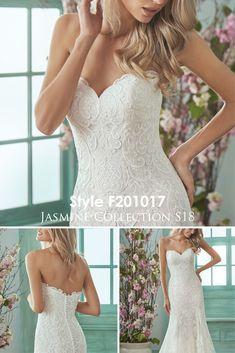 Romantic Wedding Dress | Sweetheart Neckline Wedding Dress | Simple Wedding Dress | #bridalinspiration #bridalgoals #isaidyes #bridetobe