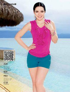 Ariadne Diaz, Moda Club, Discover Magazine, Foto Pose, Blue Shorts, My Wardrobe, Latina, Tankini, Poses