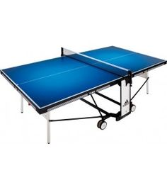 Adidas Ti600 Indoor Tafeltennistafel Blauw tafeltennis tafel pingpong tafels wedstrijden Ping Pong Table, Easy, Indoor, Adidas, Furniture, Home Decor, Classroom, 4 Wheelers, Interior