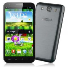 iNew I2000 Quad Core Smart Phone MTK6589 5.7 Inch HD IPS Screen 1GB 8GB Android 4.2 Dual Camera - Grey - Android Phones