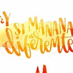 ✽¡Noviembre de Tweets!✽ Reciclando Tweets de mis twitteros favoritos. Frase por @Josedespues (JoseJardinero en twitter) #noviembredetweets #caligrafía #markers #acuarela #calligraphy #frases #watercolor #quotes #aquarelle #acquarella #lettering
