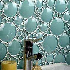 Brilliant bubble tile