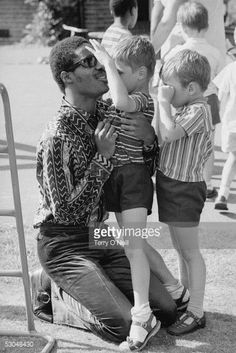 Photo d'actualité : American singer-songwriter Stevie Wonder at a...