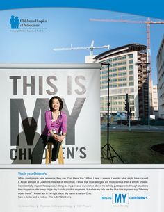 http://doc-job.com/ Children's Hospital of WI print ad | Core Creative, Inc.  GREAT! Perfect!  very impressed