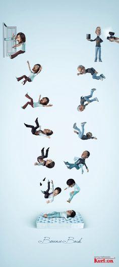 動腦新聞 床墊廣告海報-賈伯斯
