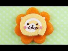 【スイーツレシピ】みかんライオン君 Tangerine Lion