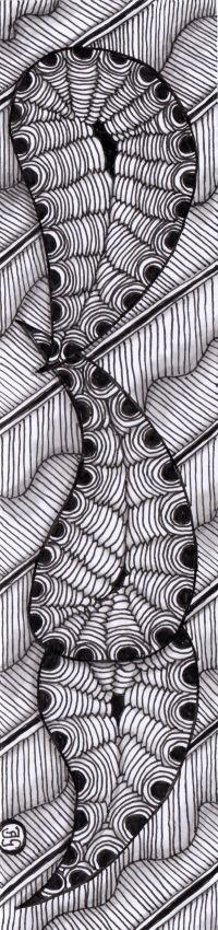 bladwijzer 25 Bookmarks, Zentangle, Abstract, Artwork, Work Of Art, Summary, Zen Tangles, Zentangles, Book Markers