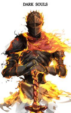 Dark Souls,фэндомы,DS art,Soul of Cinder,DSIII персонажи,Dark Souls 3